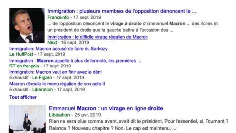 Virage à droite d'Emmanuel Macron : une opération d'enfumage reçue 5 sur 5 dans les médias