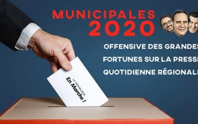 VIDÉO : municipales 2020, offensive sur la PQR