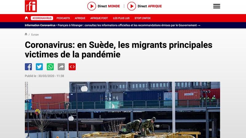 RFI: le virus du ton nouveau contamine peu à peu les médias