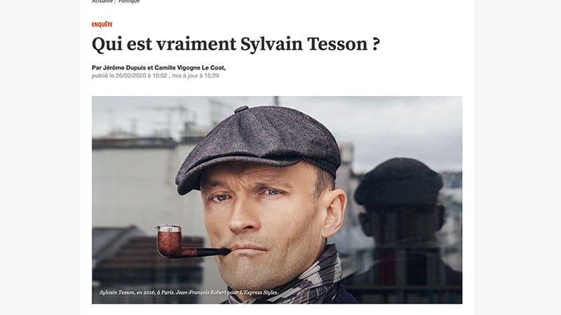 Quand L'Express règle son compte à Sylvain Tesson