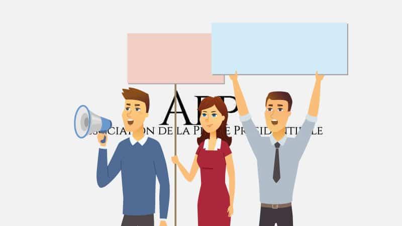 Les journalistes protestent contre le verrouillage médiatique de l'Élysée