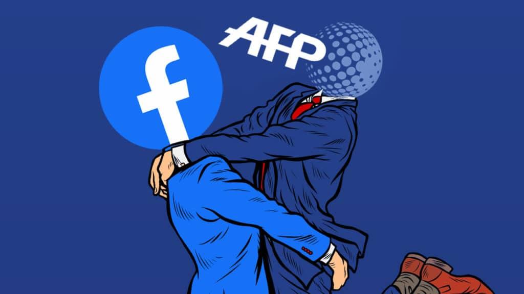 Facebook / AFP : liaisons dangereuses et censures