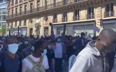 Manifestation de clandestins à Paris le 30 mai : des médias entre neutralité et bienveillance