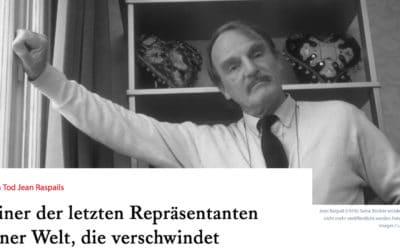 Hommage à Jean Raspail, le témoignage de Junge Freiheit