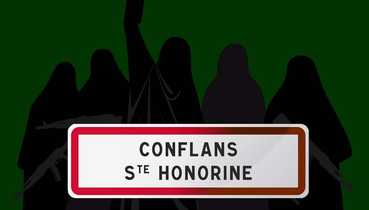 Attentat à Conflans-Sainte-Honorine: tout ça pourça!