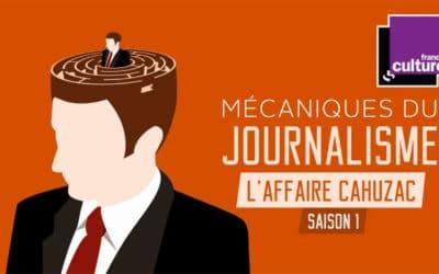 Mécanique du journalisme : une nouvelle série d'égo-podcasts sur France Culture