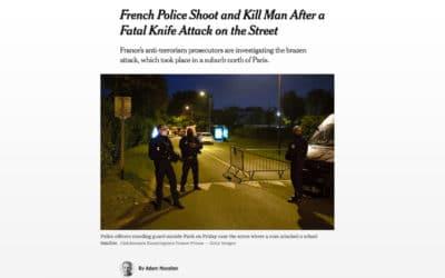 Pour le New York Times, la décapitation de Samuel Paty est le signe d'une bavure policière