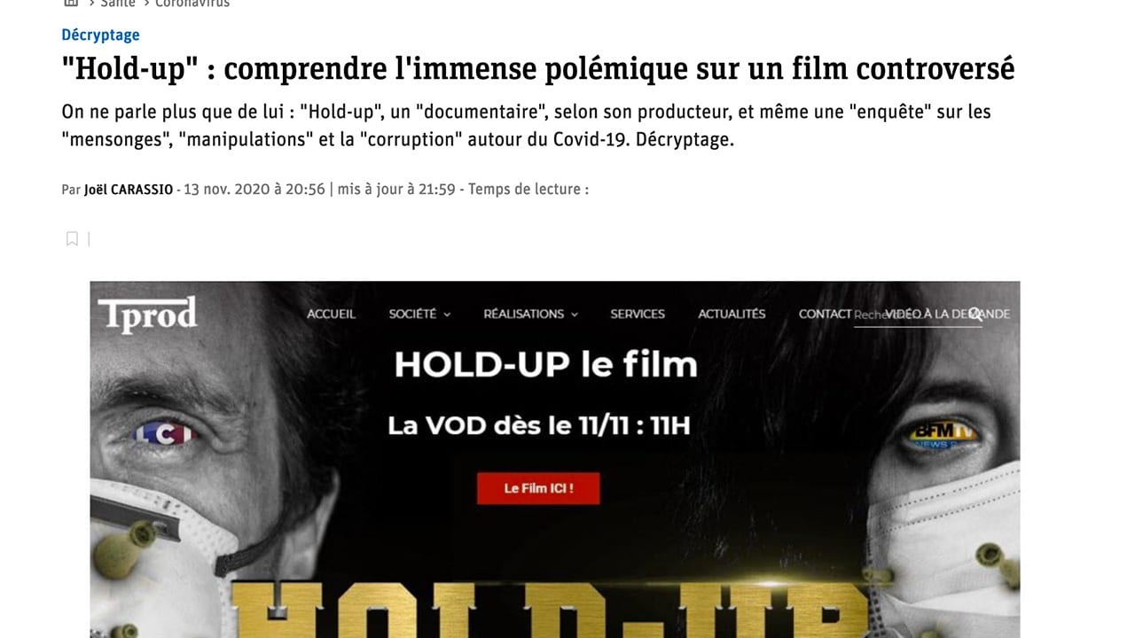 Hold Up : Le Progrès de Lyon suit la mode du complotisme