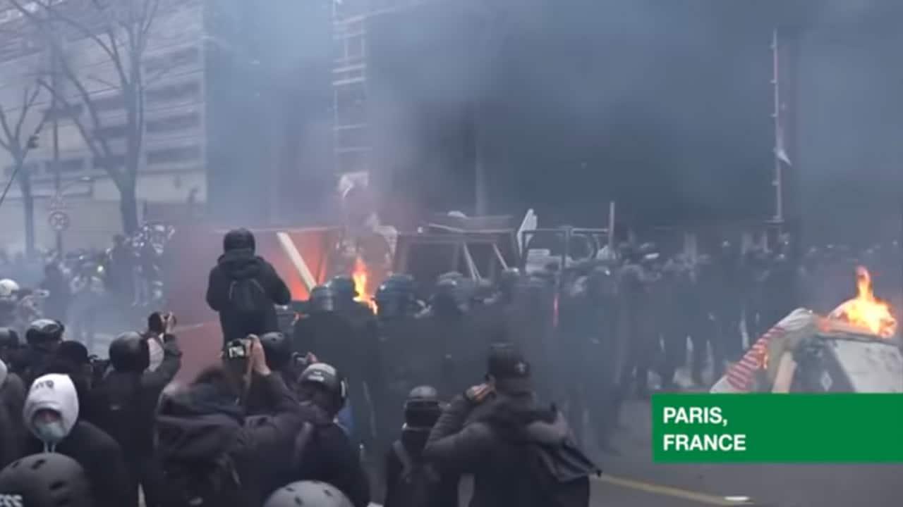 Violences lors des manifestations: un écran de fumée siutile