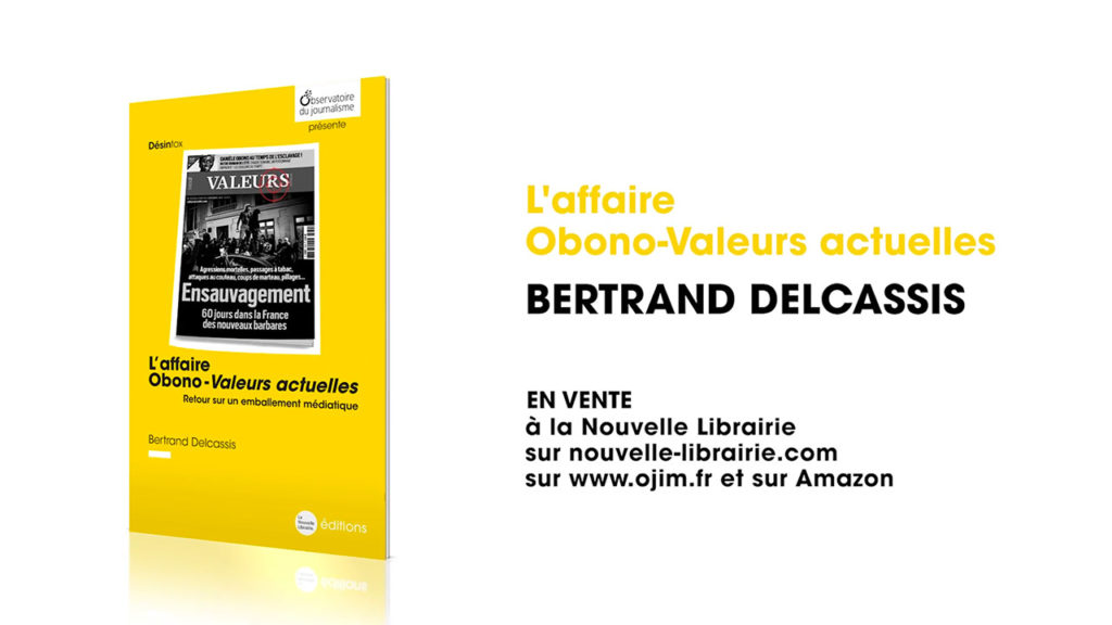 Collection Désintox, nouvelle brochure: Obono contre Valeurs actuelles