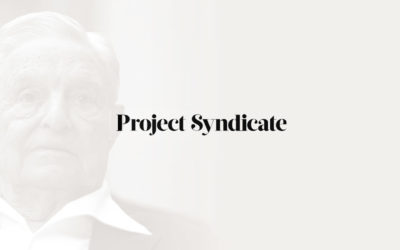 Project Syndicate et Soros : vers une opinion publique mondiale unifiée