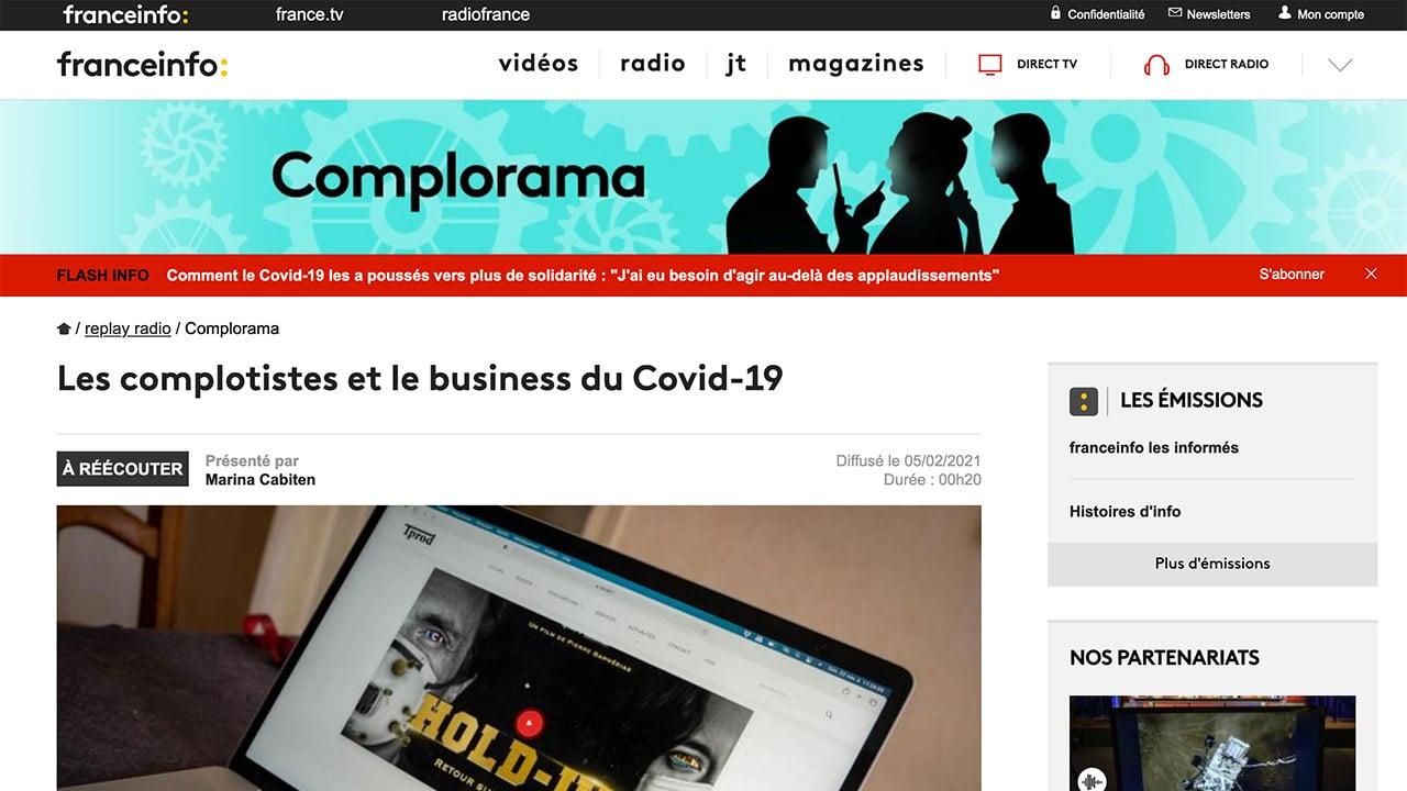 Franceinfo et Complorama ou la caricature de l'amalgame