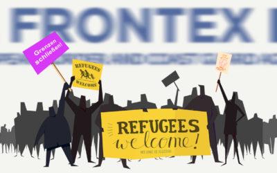 Campagne d'opinion contre Frontex: les médias de grand chemin au rendez-vous