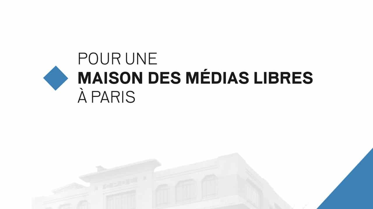 """<span class=""""dquo"""">«</span>Maison des médias libres » de gauche, projet relancé"""