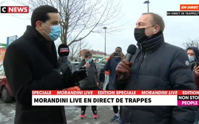 Trappes, la taqiya en direct