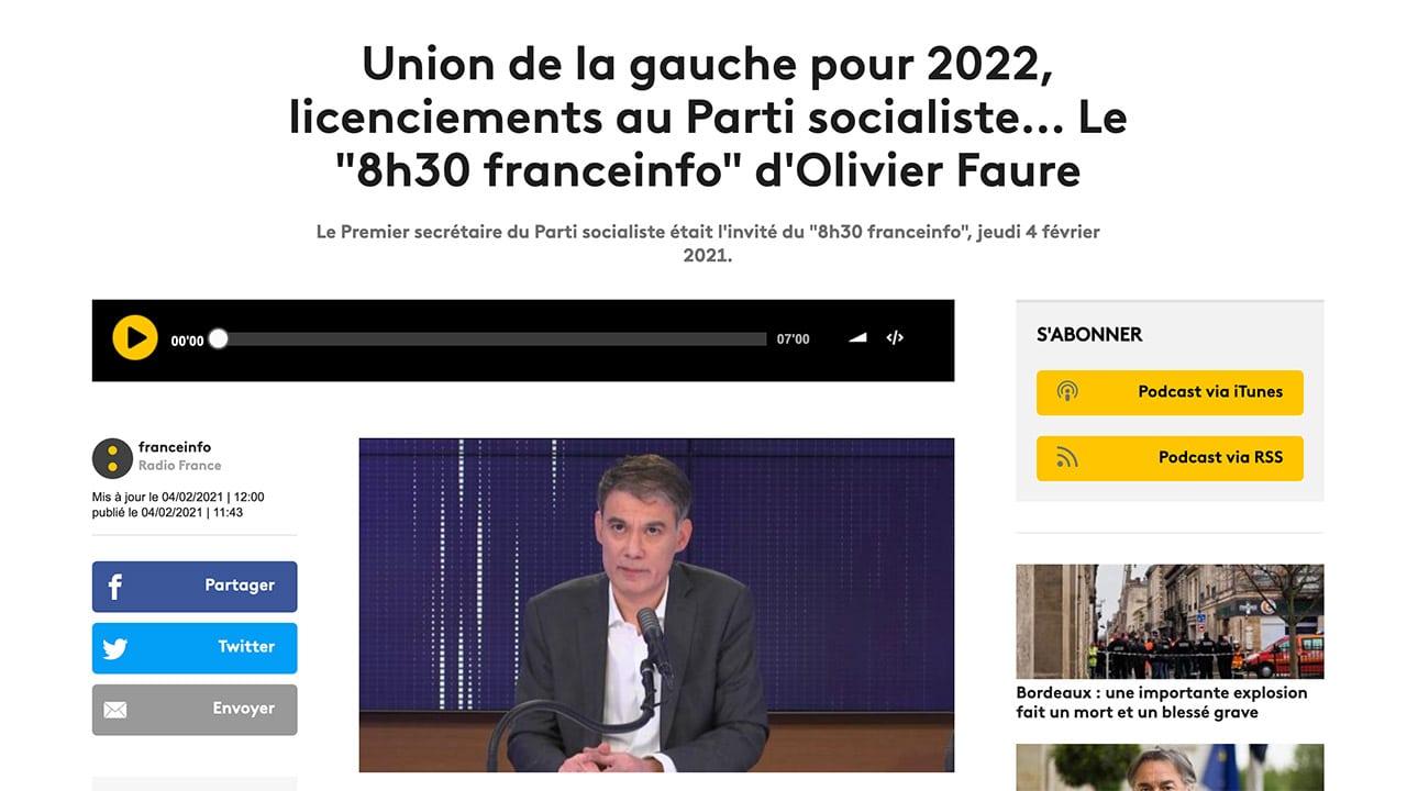 Franceinfo : analyse politique lunaire de Renaud Dély et Marc Fauvelle