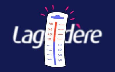 Groupe Lagardère, le printemps serachaud