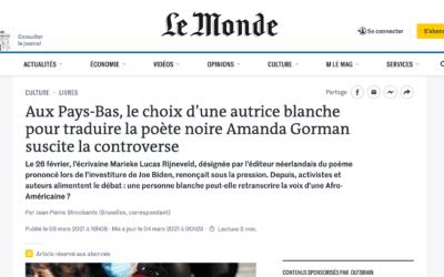 Amanda Gorman, Le Monde auCongo