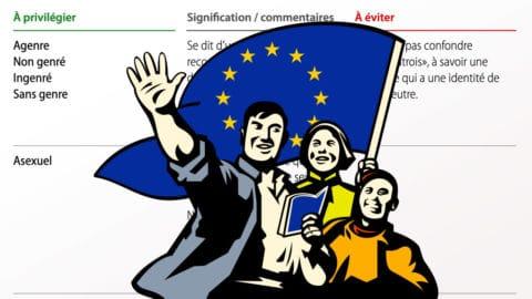 LGBTI++, ethnie et religion : l'UE sort son dictionnaire de novlangue