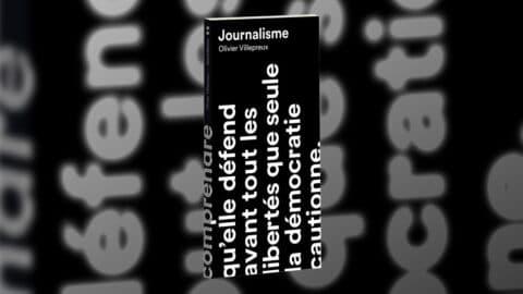 Parution : Journalisme, d'Olivier Villepreux, aux Éditions Anamosa