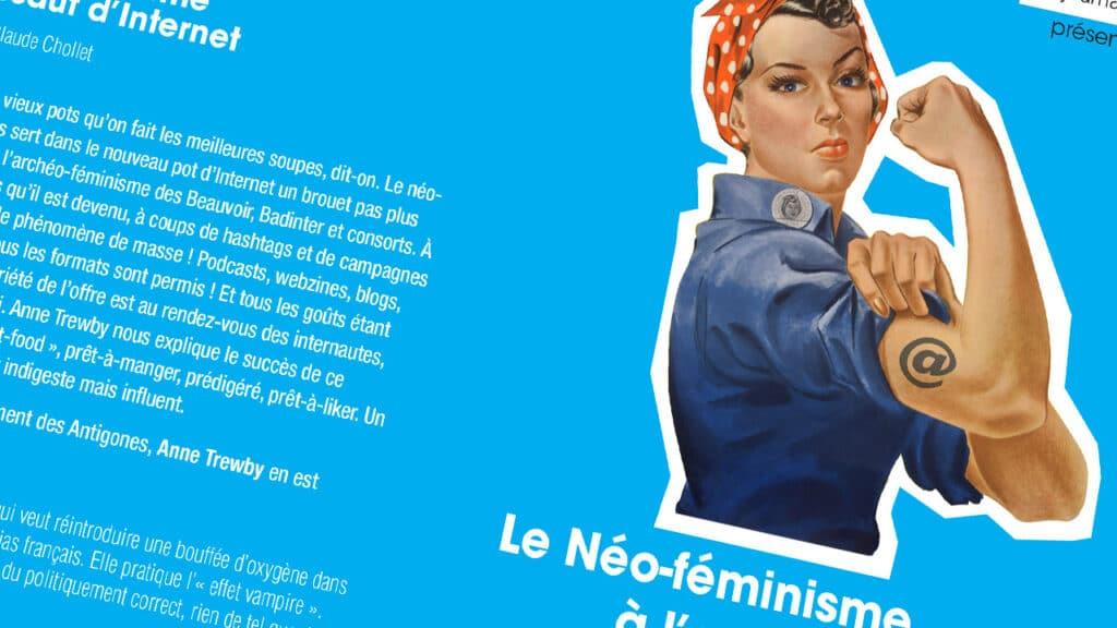 Le néo-féminisme sur internet, le malgagne