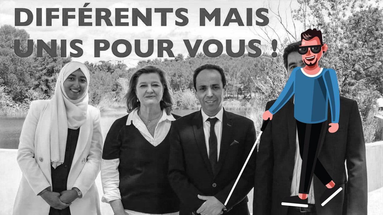 Candidate LREM voilée aux départementales dans l'Hérault: une partie du clergé médiatique aveugle