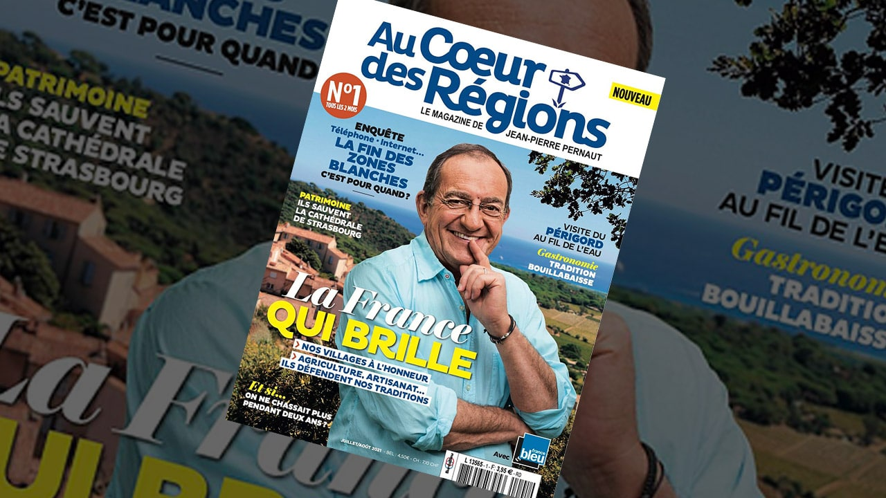 Jean-Pierre Pernault lance Au cœur des régions