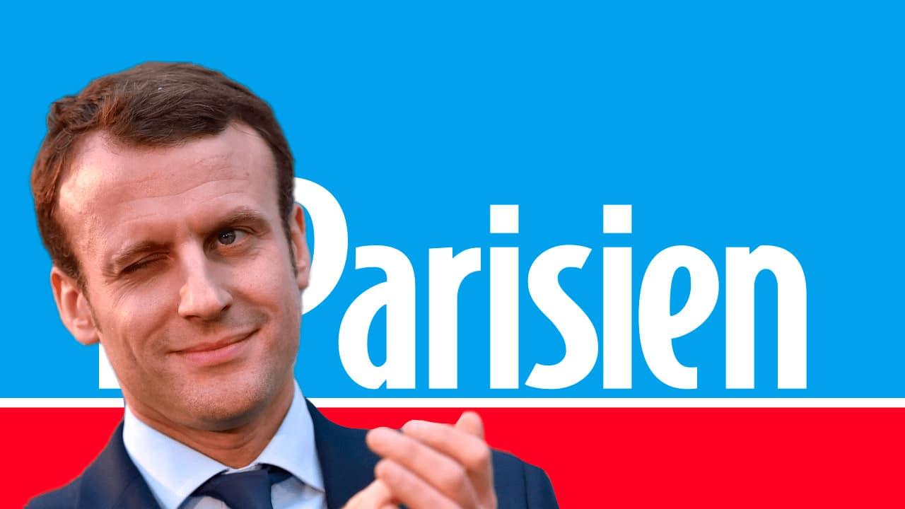 Le Parisien aime la campagne électorale d'Emmanuel Macron, mais pas celle d'Éric Zemmour