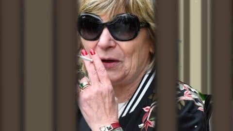 Mimi Marchand en tôle, Bestimage en deuil