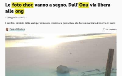 Manipulation par l'image: le coup de gueule du quotidien italien Il Giornale