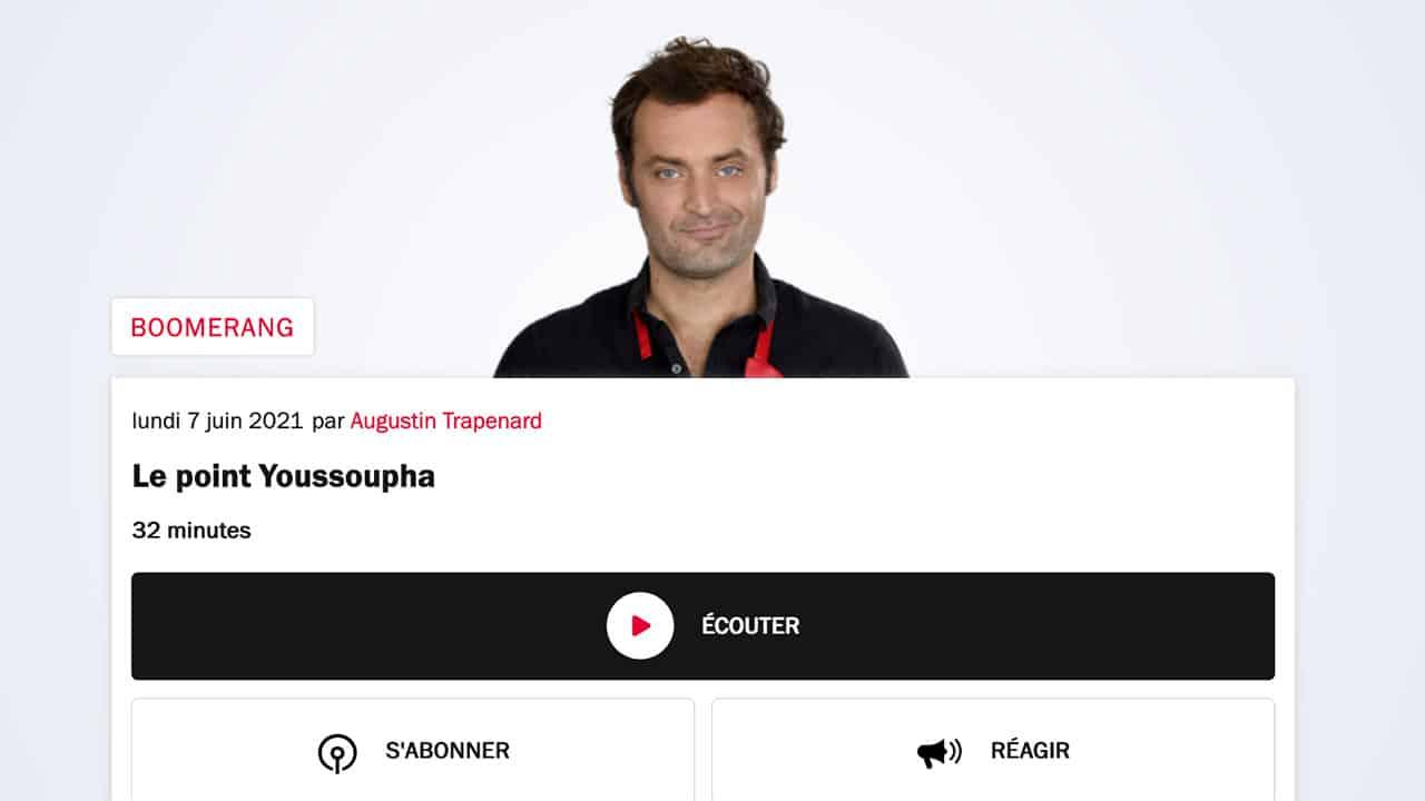 Quand France Inter sert la soupe idéologique au rappeur Youssoupha