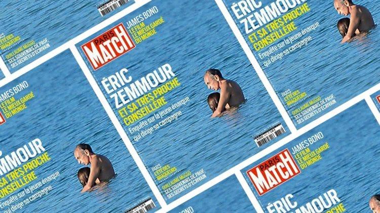Éric Zemmour people-isé par Paris Match, une guéguerre d'image