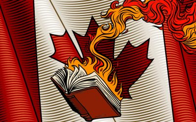 Autodafés au Canada, le wokisme fait détruire 5000 livres