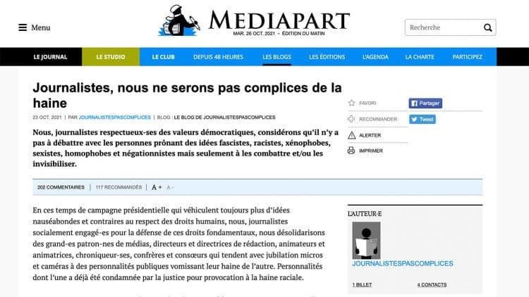 Déontologie : quand des journalistes revendiquent leur qualité de non-journalistes