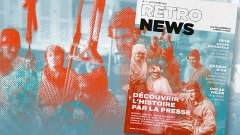 Retronews, la revue de presse (papier) de la BNF