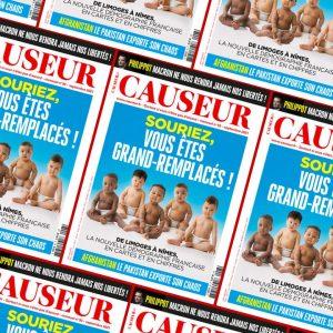 Un numéro de Causeur sur le grand changement de la population française : ces vérités si difficiles àdire