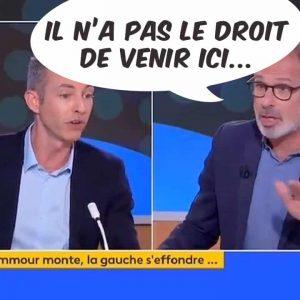 Quand un journaliste vend la mèche : Éric Zemmour interdit d'antenne sur France Info et les chaînes publiques