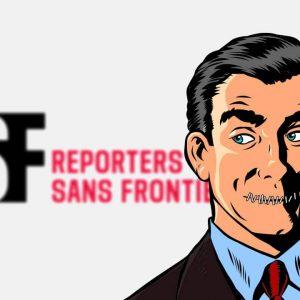 Reporters sans frontières contre les fake news et pour la censure